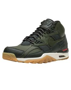 c26a8fe93266 Authorized Nike retailer. NIKE Air Trainer SC Winter Men s high top sneaker  Lace closure Waterproof