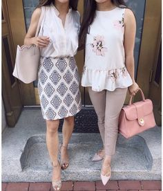 Nice 46 Awesome Summer Workwear Outfit Ideas. More at http://trendwear4you.com/2018/04/05/46-awesome-summer-workwear-outfit-ideas/