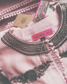 Pink n black beads