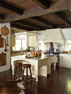 Clean, Crisp Kitchen | Photo Gallery: Traditional Cottages | House & Home | photo Virginia Macdonald
