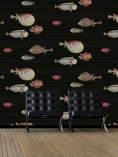 IMPORTED ACQUARIO WALLPAPER FREE SHIPPING* 'Acquario' by Cole & Son is an amazing imported decorative wallpaper, that will create an unique feature in your home The fish theme appears in some of the e
