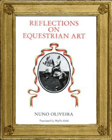 Nuno Oliveira began his riding career with maestro Jonquin Gonzales de Miranda, Master of the Horse to the King of Portugal. In the 1940's he opened his own riding school and soon became an international name in the world of classical equitation. Times change but classical principles remain.