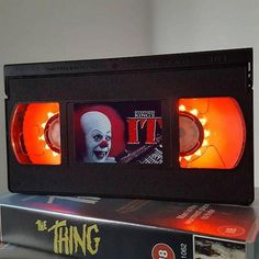 Attention all retro horror geeks! These horror VHS lamps made from real cassette tapes are kind of the coolest illuminated product I& ever seen.