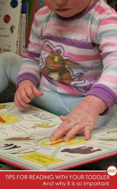 So many reasons why books are important to toddlers and why we need to read to them