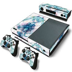 Generous Skulls Xbox One S 9 Sticker Console Decal Xbox One Controller Vinyl Skin Video Games & Consoles