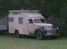1941 Chevrolet Camper Van Truck by Five Starr Photos ( Aussiefordadverts), via Flickr