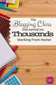 As I've evolved as a blogger, mother, and freelancer extraordinaire, I've learned that some things are totally worth spending money on! Case in point: the awesome #blogging class that has single-handedly helped me to earn $1,000's of dollars while working at home with my twins! #workathomemom http://www.budgetblonde.com/2015/04/24/how-one-blogging-class-helped-me-make-thousands-of-dollars-working-from-home/ Make money blogging #money #blog