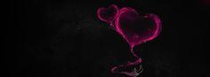 Su Damlası Kalp Facebook Kapak Fotoğrafları www.kapakresimleri.org