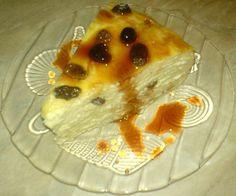 Tort de clatite cu branza dulce de vaci si stafide