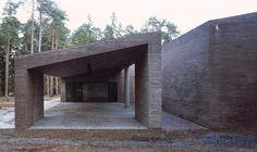 Krematorium auf dem Skogskyrkogården in Stockholm - Mauerwerk - Kultur - baunetzwissen.de
