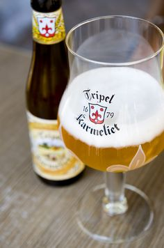I am not sure which I liked better; the beer, or the glass. So, I drank the beer and bought the glass to bring home. Tripel Karmeliet | Tripel | 8.4% ABV | Belgium