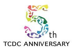 TCDC 5th Anniversary Logo