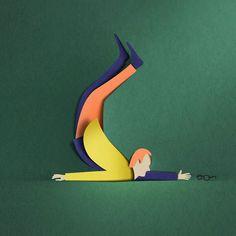 New Paper Cut Illustration Eiko Ojala 3 3d Paper Art, Paper Artwork, Art And Illustration, 3d Illustrations, Kirigami, Pop Up, Papercut Art, Eiko Ojala, Paper Magic