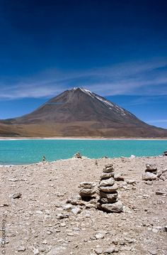 Nevado Licancabur, San Pedro de Atacama, Chile. Let's get out the snow ski's, it won't take long to get there????