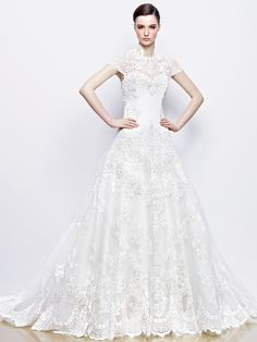 Tasteful Enzoani Wedding Dresses 2014 Bridal Collection. http://www.modwedding.com/2014/01/29/tasteful-enzoani-wedding-dresses-2014-bridal-collection/ #wedding #weddings #fashion