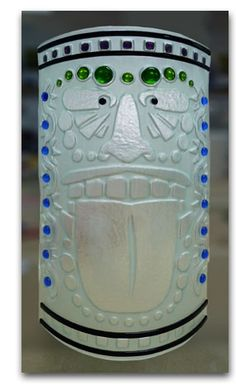 """A new way to make fused glass artwork without expensive """"compatible"""" glass!"""