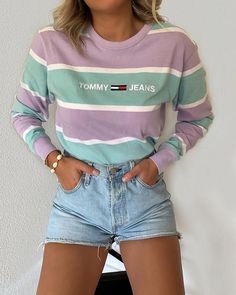 10 more fashion outfits trendy 2019 & & tenues de mode à la mode 2019 2020 Mode Outfits, Stylish Outfits, Fall Outfits, Summer Outfits, 90s Style Outfits, Cute Concert Outfits, Spring Outfits For Teen Girls, Jean Short Outfits, Purple Outfits