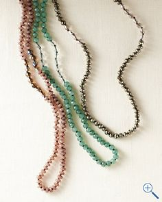 Chan Luu Long Stone Layering Necklace