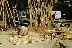 LANCE CARDINAL: Into the Woods - Set Design Callingwood School
