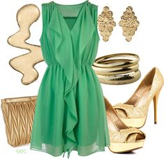 """""""Mint"""" by coombsie24 ❤ liked on Polyvore"""