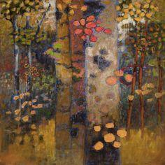 Rick Stevens Art - Shinrin-Yoku oil on canvas Abstract Landscape Painting, Landscape Art, Landscape Paintings, Abstract Art, Abstract Paintings, Oil Paintings, Landscapes, Oil Painting On Canvas, Canvas Wall Art