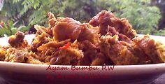 Ayam Bumbu RW masakan khas Manado    Ayam dimasak dengan bumbu bumbu khas Manado. Bercitarasa sarat bumbu dan pedas   Yuk simak resepnya  http://aneka-resep-masakan-online.blogspot.co.id/2014/05/resep-ayam-bumbu-rw.html