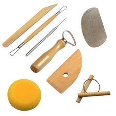 Polymer Clay Sculpting Tools Art Projects Pottery Molding Carving Kit Sets 8 Pcs for sale online Painting Fur, Artist Painting, Cleaning Buckets, Pottery Tools, Pottery Clay, Shops, Artist Brush, Kit, Sculpting