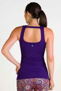 The perfect fall color... our new Kira Grace Glamour Goddess Portrait Tank in Imperial.