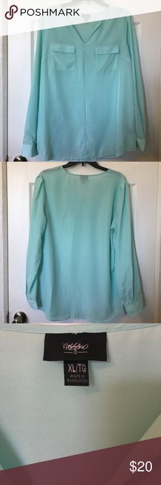 NWOT! Mossimo Blouse NWOT! Beautiful color! Mossimo Supply Co Tops Blouses