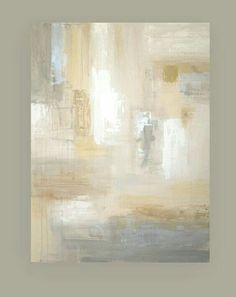 """Shabby Chic Original This is one type of canvas painting I am going to try! """"Painting Abstract Acrylic Art Titled: White Sands 6 by Ora Birenbaum Acrylic Painting Canvas, Acrylic Art, Abstract Canvas, Canvas Art, Painting Abstract, Abstract Landscape, Diy Painting, Landscape Paintings, Diy Wall Art"""