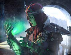 Dragon Age: Inquisition. Anchor • @dark_incognito as Inquisitor Trevelyan