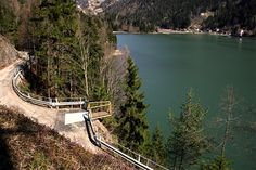 Viewpoint on Alleghe Lake (BL) Italy by archMaDe www.archmade.it