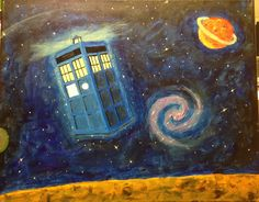 You saved to paint night designs Are you a Doctor Who fan, or know somebody who is? This would make an awesome paint night party for a group of Whovians, or a great gift for your own Doctor Who fan!