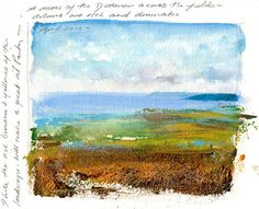 Amanda-Hoskin Prints - Pages from the Sketchbook- View of the Dodman