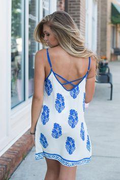 Back & blue #swoonboutique