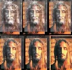 High tech imaging of the Shroud of Turin. Jesus