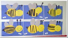 cute with bumble bee poem – Knippen Insect Crafts, Bug Crafts, Preschool Crafts, Bee Activities, Bee Art, Kindergarten Art, Art Plastique, Elementary Art, Teaching Art