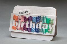 Das Kartenchaos: Washi-Tape