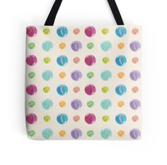 Cat Eye Marbles pattern tote bag #tote #bag #redbubble #marbles #pattern