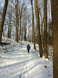 Even in winter, working out Outside can be a lot of fun! Read what it was like hiking & biking through an Ontario winter!