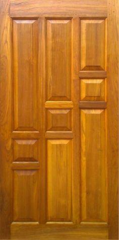Teak Wood Main Door Design Indian 30 Ideas For 2019 Single Door Design, Wooden Front Door Design, Wooden Front Doors, Wood Doors, Front Design, Bedroom Door Design, Door Design Interior, Modern Wooden Doors, Main Entrance Door