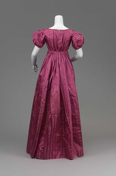 Woman's dress | Museum of Fine Arts, Boston 1820s