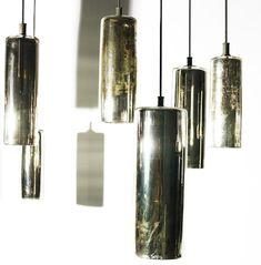 Mercury Glass Pendent Light