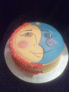 Sun and moon cake  :)