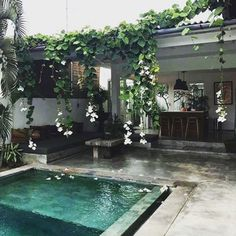 203 Me gusta, 9 comentarios – : by bjørkheim / Åse Ørjasæter (Åse Ørjasæt… - Summer Diy Small Backyard Pools, Small Pools, Modern Backyard, Small Backyards, Exterior Design, Interior And Exterior, Outdoor Spaces, Outdoor Living, Indoor Outdoor