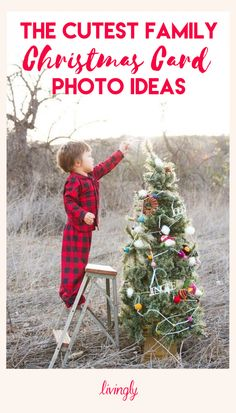 Christmas card photo ideas for the whole family.