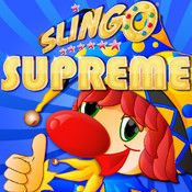 Slingo Supreme  A bingo type game, good to waste some time with a daily challenge