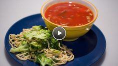 Chinese tomatensoep - De Makkelijke Maaltijd | 24Kitchen