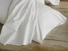 300 Percale with Lace Flat Sheet