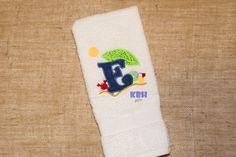 Beach Theme Hand Towel by KeepsakesByHeather on Etsy